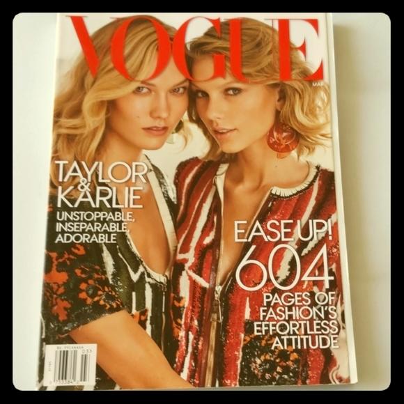 Taylor Swift/Karlie Kloss Vogue (RARE)